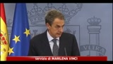 Spagna, Zapatero annuncia elezioni anticipate a novembre