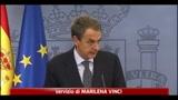 Spagna, Zapatero annuncia elezioni anticipate a novembre