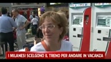 I milanesi scelgono il treno per andare in vacanza