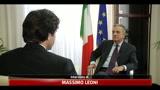 Sacconi: Berlusconi domani ha strumenti per rassicurare