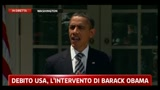 02/08/2011 - Crisi, Obama: economia fragile, lavorare insieme per taglio deficit