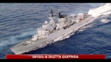 03/08/2011 - Libia, missile cade in mare a 2 km da nave militare italiana