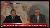 Berlusconi e Tremonti sul coinvolgimento della BCE