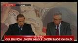 04/08/2011 - Berlusconi e Tremonti sul coinvolgimento della BCE