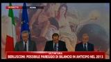 05/08/2011 - Tremonti: 4 punti, 2 su bilancio pubblico, 2 economia