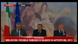 05/08/2011 - Lapsus Berlusconi: Palazzo Letta non chiude