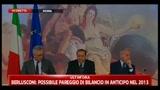 05/08/2011 - Lapsus Berlusconi: Palazzo Letta non chiude