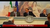 06/08/2011 - Berlusconi: non esiste ipotesi di voto anticipato al 2012
