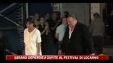 Gerard Depardieu ospite al Festival di Locarno
