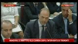 11/08/2011 - Alfano alle commissioni riunite