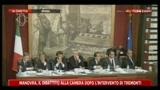 Di Pietro alle commissioni riunite