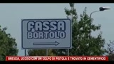 12/08/2011 - Brescia, ucciso con colpo di pistola e trovato in cementificio