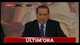 Manovra, Berlusconi: abbiamo rispettato impegno in anticipo