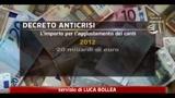 13/08/2011 - Decreto anticrisi, contributo di solidarietà per redditi alti
