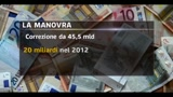 13/08/2011 - Decreto anticrisi, misure per 4,5 miliardi nel 2012-2013