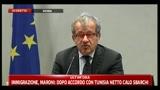 3 - Conferenza sicurezza, Maroni: finché in Libia c'è guerra impossibile prevenire immigrazione