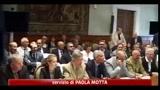 16/08/2011 - Manovra, Berlusconi: miglioramenti s, ma i saldi non si toccano
