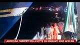 Lampedusa, sbarcati nella notte 300 migranti nord africani