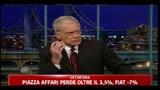 Minacce per il presentatore americano David Letterman