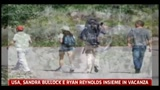 19/08/2011 - Usa, Sandra Bullock e Ryan Reynolds insieme in vacanza