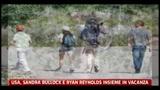 Usa, Sandra Bullock e Ryan Reynolds insieme in vacanza