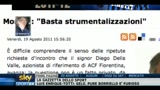 20/08/2011 - Moratti, risposta a Della Valle: Basta strumentalizzazioni