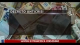 21/08/2011 - Decreto anticrisi in commissione al Senato martedi