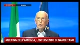 Crisi, Napolitano: occorre pi apertura verso voci critiche