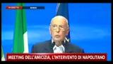 Crisi, Napolitano: occorre più apertura verso voci critiche