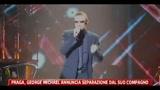 Praga, George Michael annuncia separazione dal suo compagno