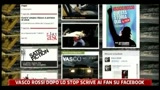 23/08/2011 - Vasco Rossi dopo lo stop scrive ai fan su facebook