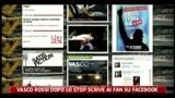 23/08/2011 - Vasco Rossi dopo lo stop scrive ai fan su facebook
