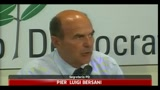 23/08/2011 - Bersani, si a riforma Welfare ma non per tappare buchi