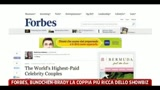 23/08/2011 - Forbes, Bundchen-Brady la coppia pi ricca dello showbiz