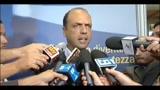 24/08/2011 - Alfano: la Manovra verr approvata nei saldi previsti dal Decreto