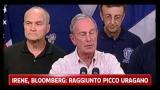 Irene, Bloomberg: raggiunto picco uragano