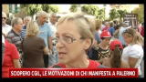 Sciopero CGIL, le motivazioni di chi manifesta a Palermo