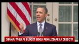 Obama, tagli al budget senza penalizzare la crescita