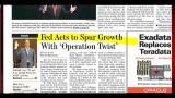 I giornali di giovedì 22 settembre 2011