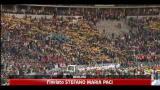 Papa in Germania, messa a Olympiastadion con 90mila fedeli