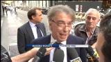 29/09/2011 - Napoli, Moratti: grande simpatia, ma voglio vincere