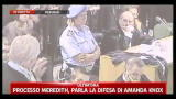 03/10/2011 - Processo Meredith,parla la difesa di Amanda - pt02