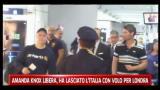 04/10/2011 - Amanda Knox libera, ha lasciato l'Italia con volo per Londra