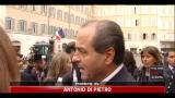 Di Pietro: niente di politico nel discorso Berlusconi