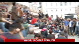 Proteste indignati, traffico in tilt a Roma