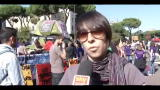 15/10/2011 - Corteo indignati a Roma, le voci degli studenti