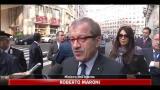 Scontri Roma, Maroni: annuncerò nuove misure legislative
