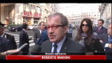 Maroni: servono nuove leggi contro violenza manifestazioni