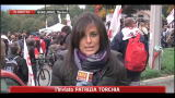 23/10/2011 - No Tav, chiusa autostrada Torino-Bardonecchia