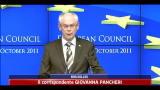 Crisi, mercoledi nuovo consiglio europeo
